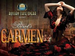 "<h2><Font color=""#5D87A1"">Carmen – Russian State Opera"