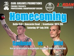"<h2><Font color=""#5D87A1"">Homecoming<br></h2>Proudly presented by Carl Greaves Promotions<br><br>"