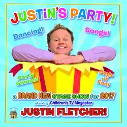 """<h2><Font color=""""#5D87A1"""">Justin's Party"""