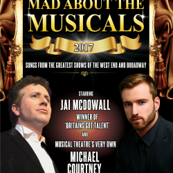 "<h2><Font color=""#5D87A1"">Mad About The Musicals"