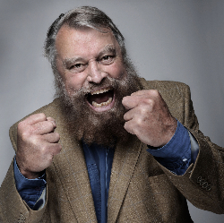 """<h2><Font color=""""#5D87A1"""">An Evening With Brian Blessed"""