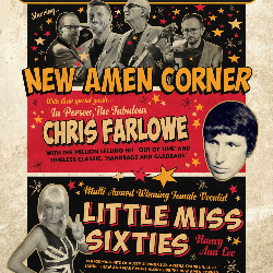 "<h2><Font color=""#5D87A1"">Bringing On Back The 60s starring New Amen Corner"