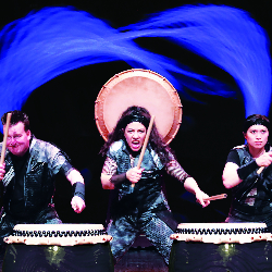 """<h2><Font color=""""#5D87A1"""">Mugenkyo Taiko Drummers"""