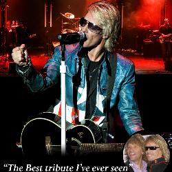 """<h2><Font color=""""#5D87A1"""">The Bon Jovi Experience"""
