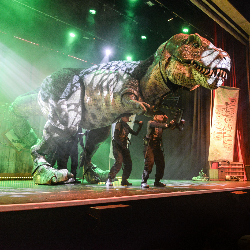 "<h2><Font color=""#5D87A1"">Dinosaur World Live"