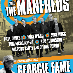 """<h2><Font color=""""#5D87A1"""">Maximum R'n'B with The Manfreds plus VERY Special Guest Georgie Fame"""
